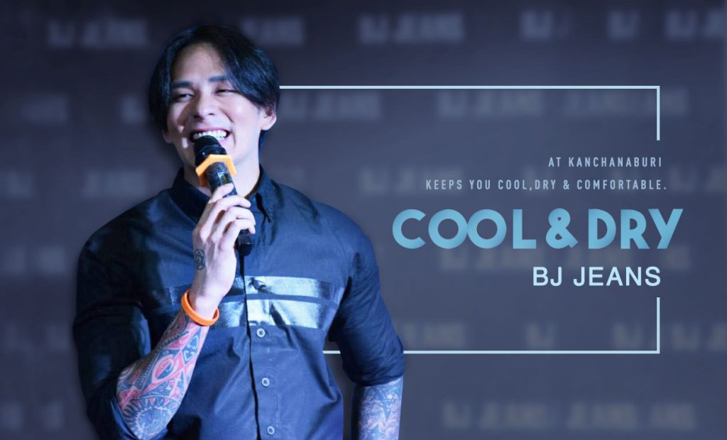 BJ Road Show Cool&Dry Jeans at kanchanaburi