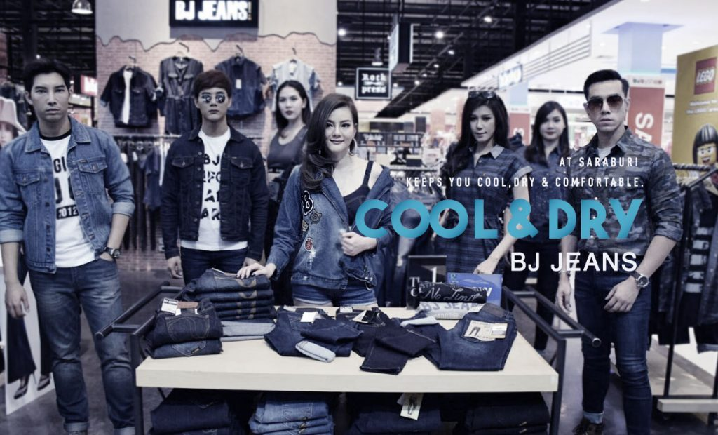 BJ Road Show Cool & Dry Jeans at Saraburi