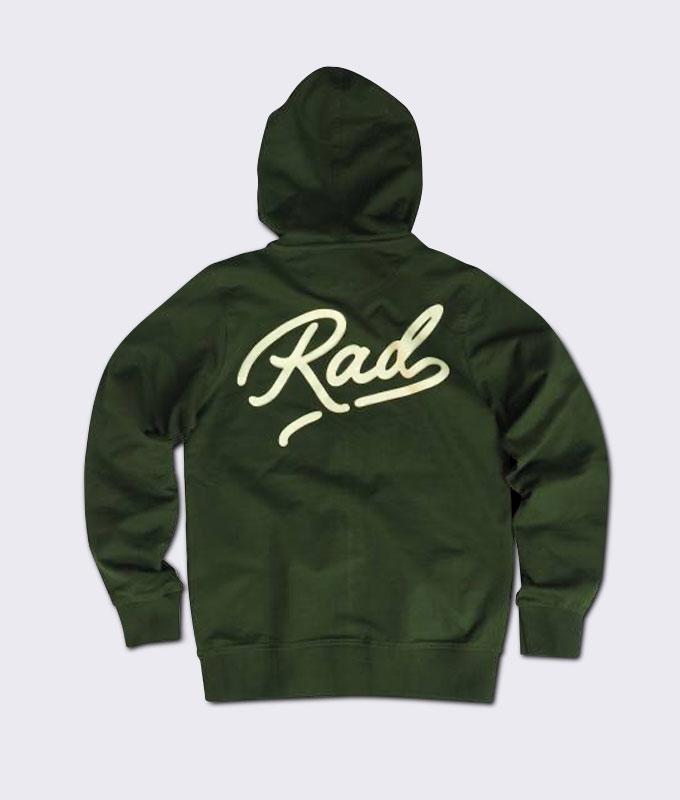 เสื้อแจ็คเก็ต ลาย Rad Hoodie