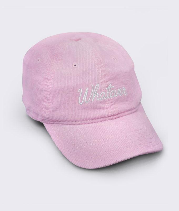 หมวกลูกฟูก BJ JEANS สีชมพู BJAD-068-27-F