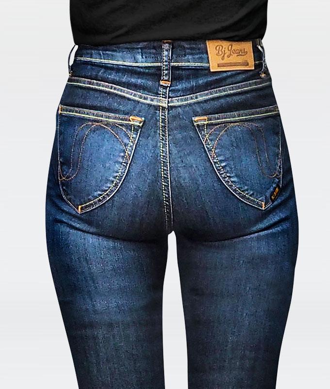 กางเกงยีนส์ผู้หญิงทรง Skinny  High Waist  รุ่น 2 IN 1