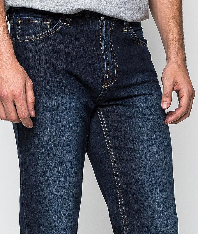 กางเกงยีนส์ Classic Straight Washed