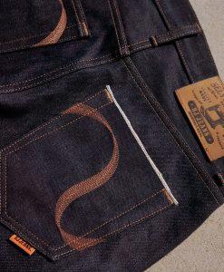 กางเกงยีนส์ริมแดง Sexvedge Denim 19 Oz.