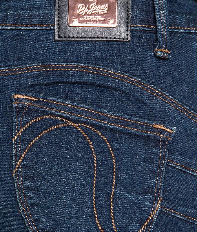 กางเกงยีนส์ Washed Out Ripped High-rise Slim-fit