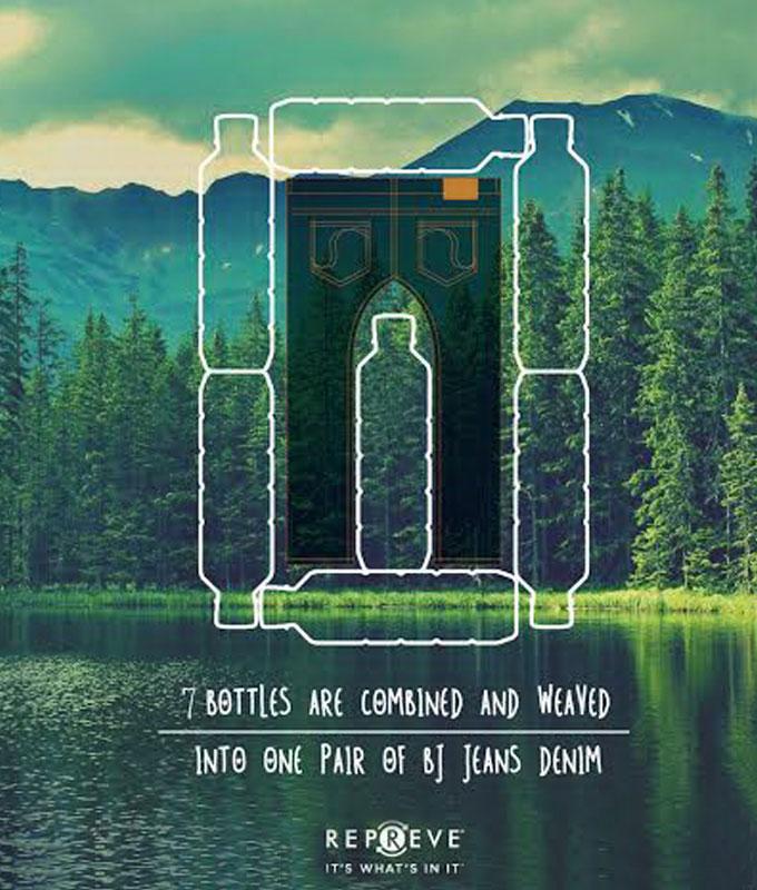 Plastic Bottle Jeans