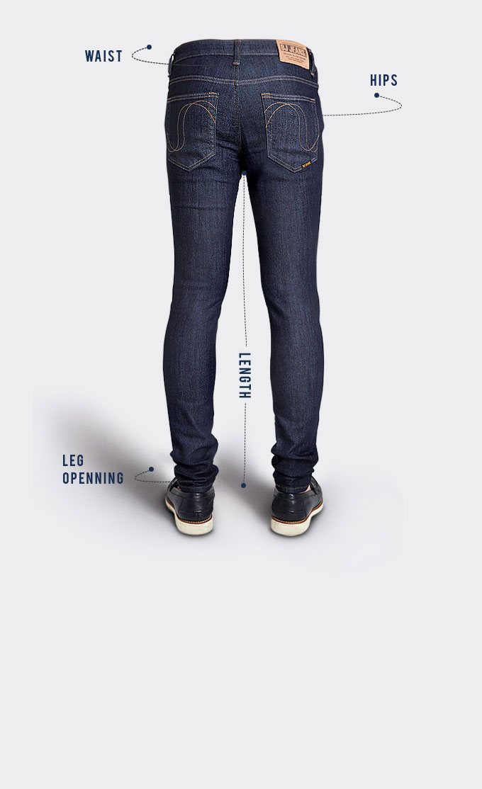 Mens Fit Guide - Bj Jeans-1561