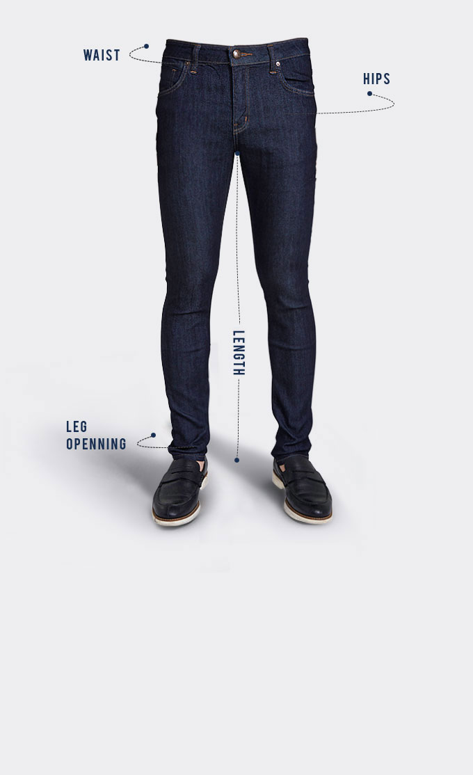 Mens Fit Guide - Bj Jeans-5303