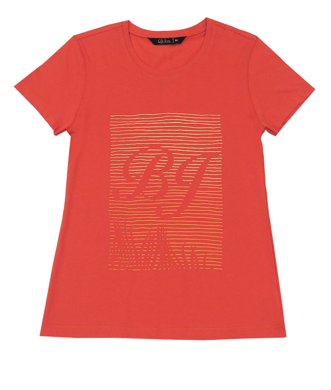 เสื้อยืดคอกลมผู้หญิง รุ่น BJNL-1438