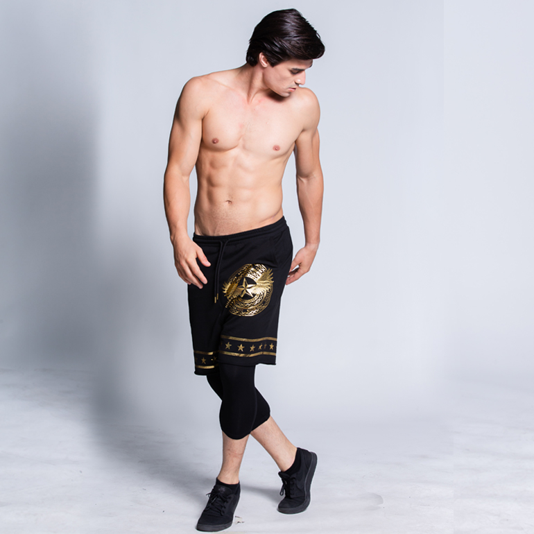 BJ BJANS กางเกงขาสั้น รุ่น CODE BLACK : PTMSH-0079