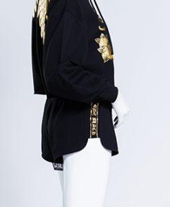 BJ JEANS กางเกงขาสั้น รุ่น CODE BLACK : PTLSH-0080
