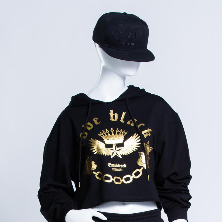 BJ JEANS เสื้อ HOODIES ผู้หญิงรุ่น CODE BLACK : HTLGF-0067