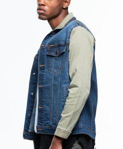 New เสื้อแจ็คเก็ตผู้ชายแขนยาว รุ่น JJMGF-5048