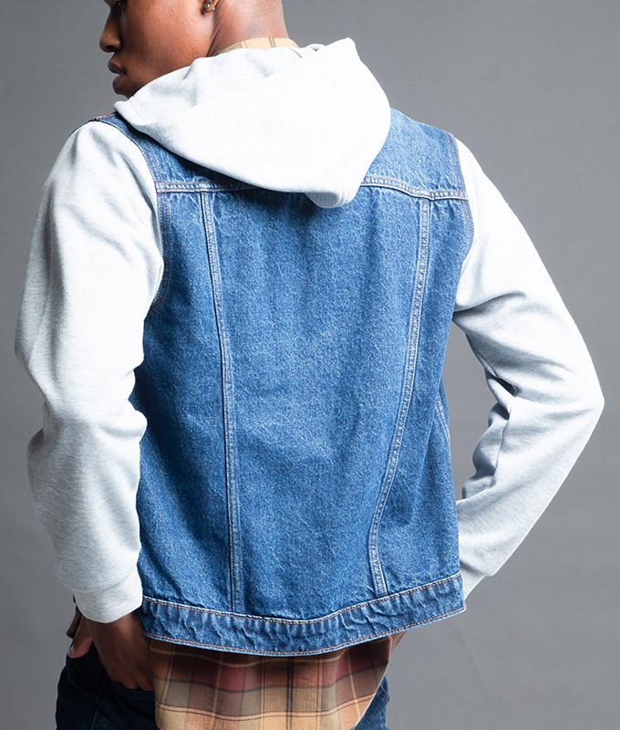 New เสื้อแจ็คเก็ตผู้ชายแขนยาว รุ่น JJMGF-5064