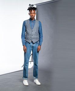 New Waistcoat เสื้อกั๊กผู้ชาย รุ่น JJMSF-0141