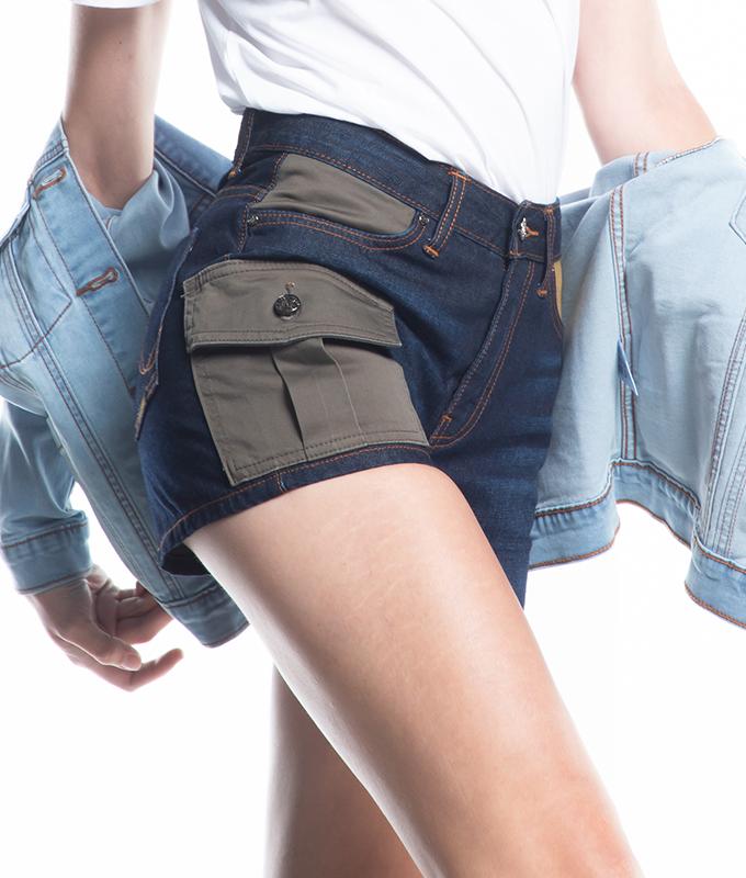 New กางเกงยีนส์ขาสั้นผู้หญิง  รุ่น PJLSM-5051