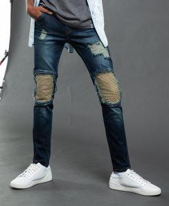 New กางเกงยีนส์ทรง Skinny รุ่น PJMKL-5049