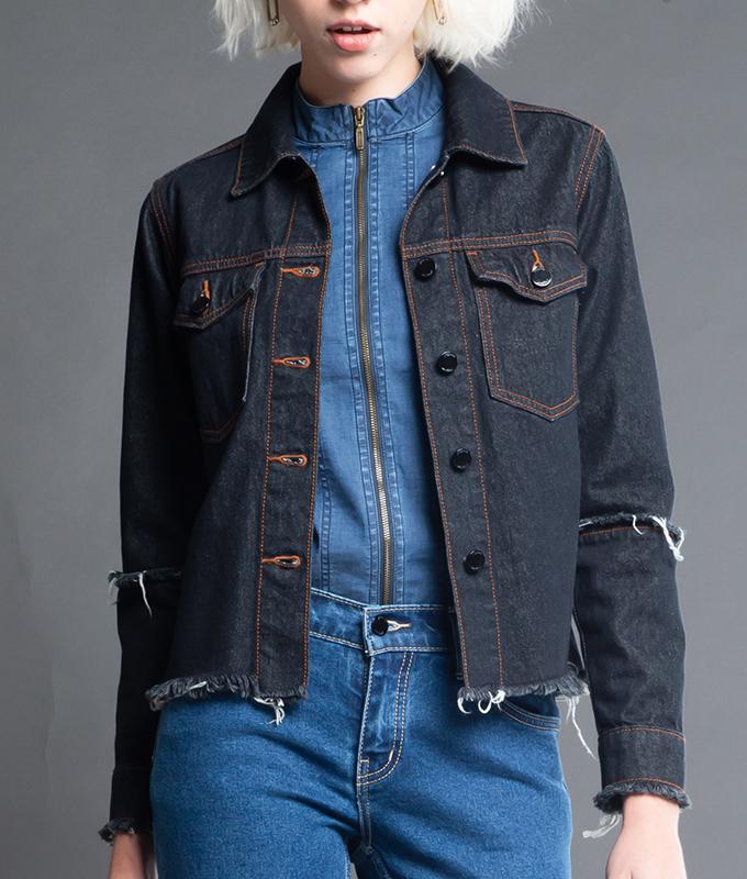 New Jacket Jeans รุ่น YMYJ-044