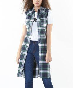 New Collections เสื้อคลุมลายสก๊อต J-BJ-EWLSF-0022